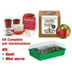 Kit completo mini serra e semi 7 Pot Primo
