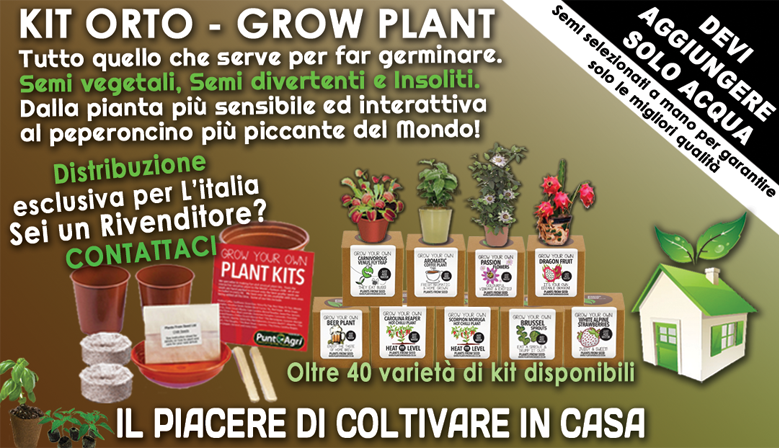 Kit semi orto Grow Plant